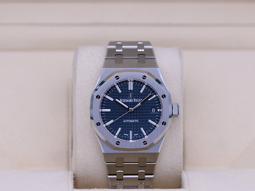 Audemars Piguet Royal Oak 15450 Blue Dial - 2019 Box & Papers