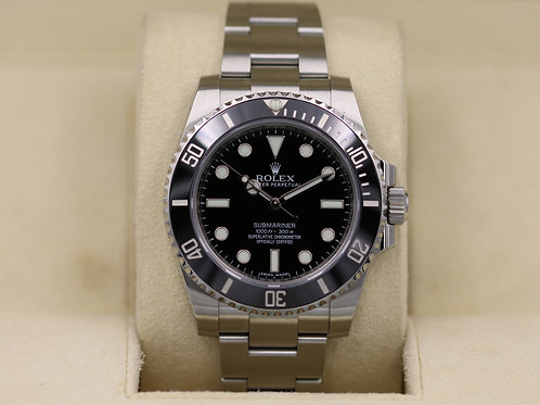 Rolex Submariner No Date 114060 Stainless - Box & Papers