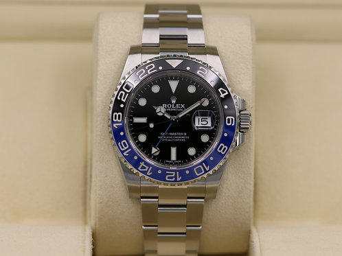 Rolex GMT Master II 116710BLNR Stainless - 2018 Box & Papers