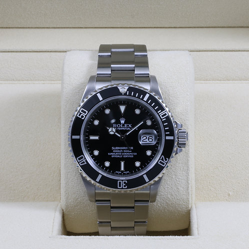 Rolex Submariner 16610 - K Serial - Box & Papers