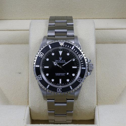 Rolex Submariner No Date 14060 - T Serial Tritium Dial - Box & Papers