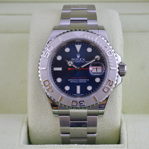 Rolex YachtMaster 116622 Blue Dial - 2016 Watch!