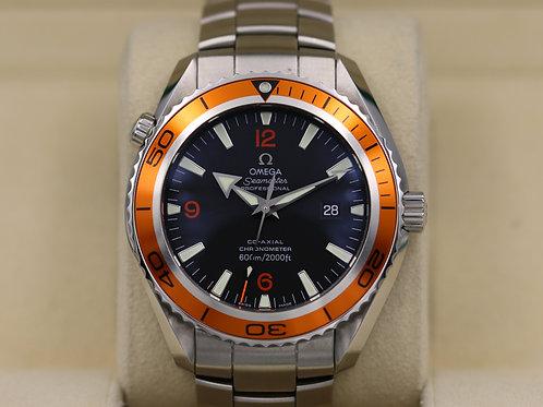 Omega Seamaster Planet Ocean XL 2208.50.00 45.5mm Orange - Box & Papers!