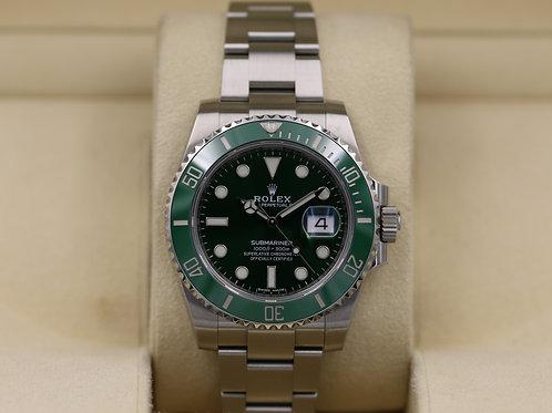 Rolex Submariner Date 116610LV Hulk Green - 2019 Box & Papers!