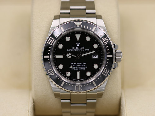 Rolex Sea-Dweller 116600 SD4K Ceramic 40mm - Discontinued - 2017 Box & Papers