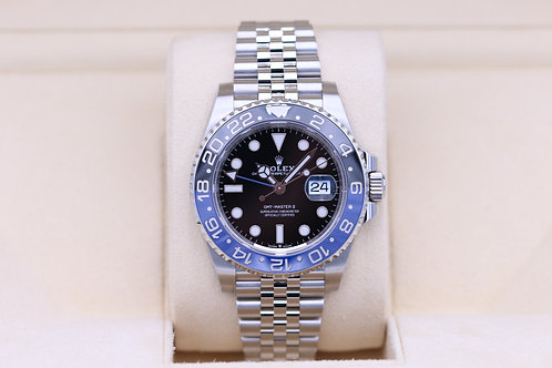 Rolex GMT Master II 126710BLNR Batman Stainless - 2020 Box & Papers