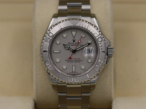 Rolex Yacht-Master 16622 Platinum - D Serial - Box & Papers