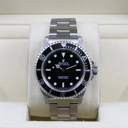 Rolex Submariner No Date 14060M - D Serial