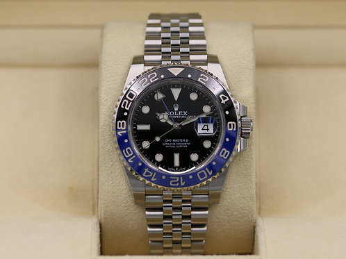 Rolex GMT Master II 126710BLNR Batman Stainless - 2019 Box & Papers!