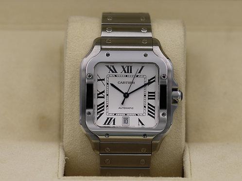 Cartier Santos De Cartier Large WSSA0009 - 2019 Box & Papers