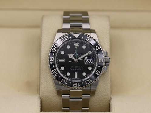 Rolex GMT Master II 116710LN Black - Box & Papers