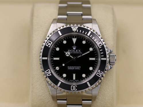 Rolex Submariner No Date 14060M Stainless - Y Serial 2 Liner - Box & Papers