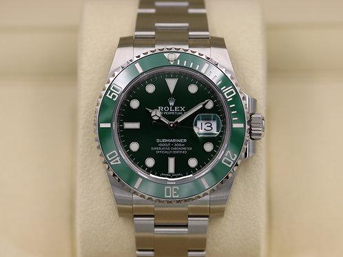 Rolex Submariner 116610LV Green Dial Ceramic Bezel Hulk - 2018 Unworn