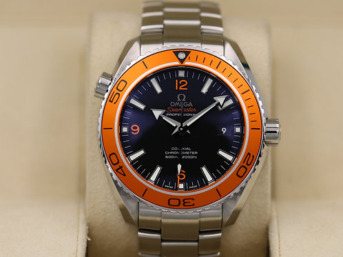 Omega Seamaster Planet Ocean 8500 45.5mm Orange - Box & Papers