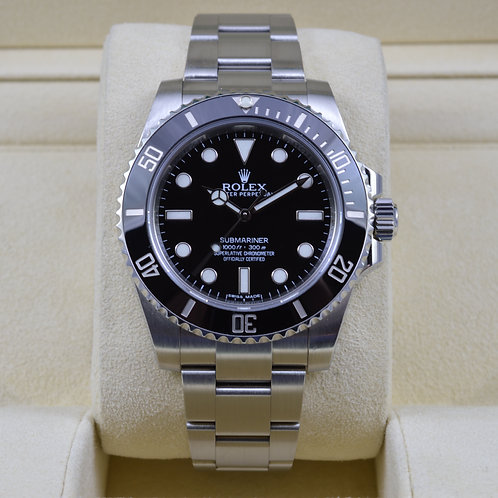 Rolex Submariner 114060 No Date - 2014 Box & Papers