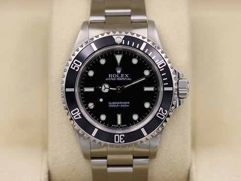 Rolex Submariner No Date 14060 - P Serial 2 Liner - Box & Papers!