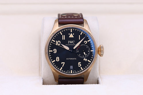 IWC Big Pilot Bronze IW501005 Limited Edition - 2019 Box & Papers