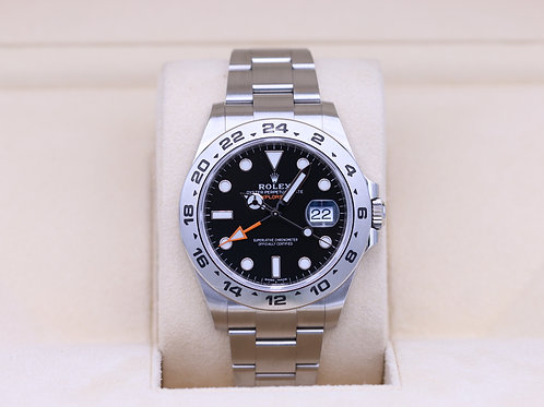 Rolex Explorer II 216570 Black Dial 42mm Stainless - 2019 Box & Papers