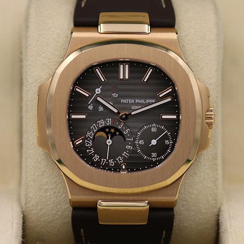 Patek Philippe Nautilus 5712R Rose Gold - Box & Papers