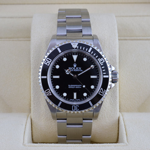 Rolex Submariner 14060 No Date