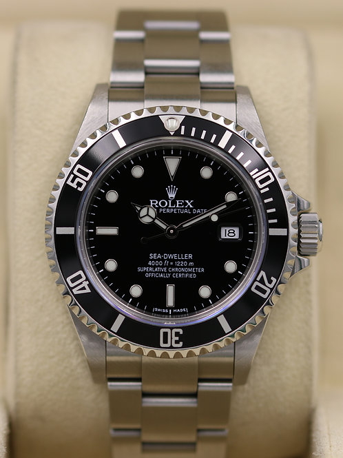 Rolex Sea-Dweller 16600 - M Serial No Holes Case