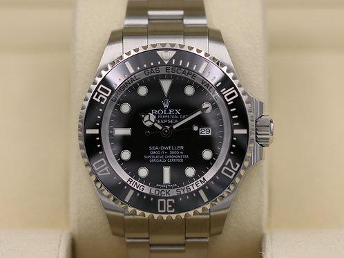 Rolex DeepSea Sea-Dweller 116660 Black Dial - 2018 Box & Papers!