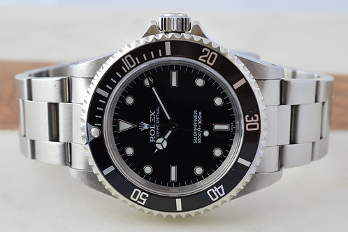 Rolex Submariner 14060 No Date - W/ Box and Papers