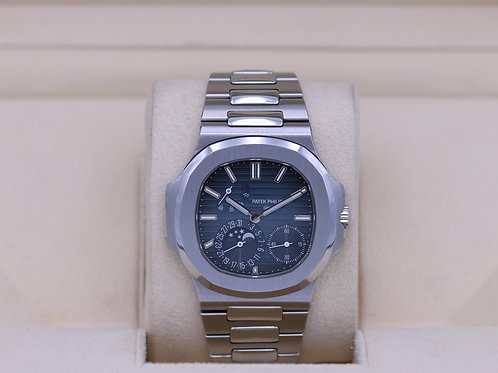 Patek Philippe Nautilus 5712/1A Stainless Blue Dial - Box & Papers