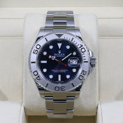 Rolex Yacht-Master 116622 Blue Dial - Box & Papers