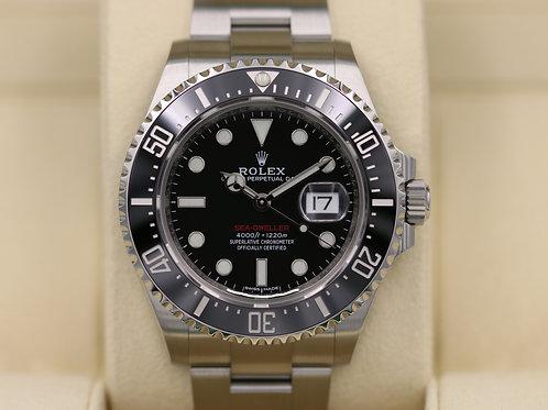 Rolex Sea-Dweller 126600 SD43 Red 50th Anniversary 43mm - 2018 Unworn