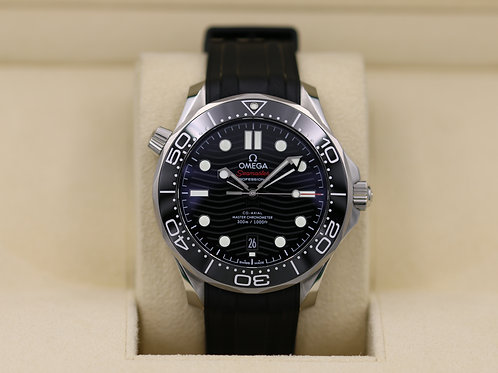 Omega Seamaster 300m Diver Co-Axial Black Dial - 2019 Box & Papers