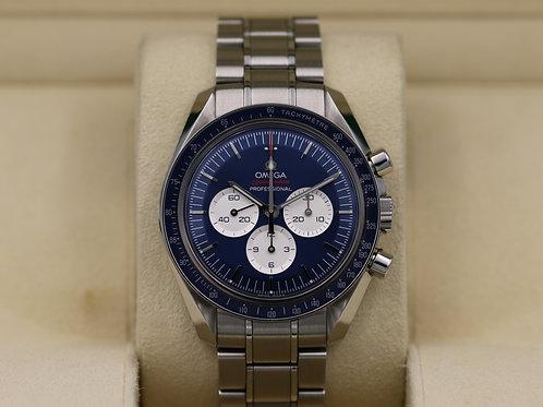 Omega Speedmaster Tokyo 2020 Blue 522.30.42.30.03.001 - Box & Papers
