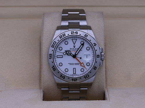 Rolex Explorer II 216570 White Dial 42mm Stainless - Box & Papers 2020