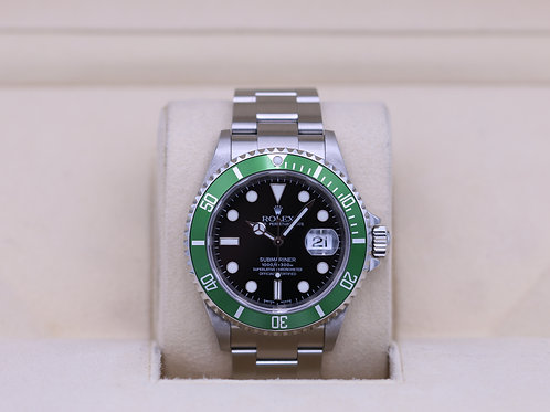 Rolex Submariner 16610LV 50th Anniversary - F Serial Flat 4 - Complete