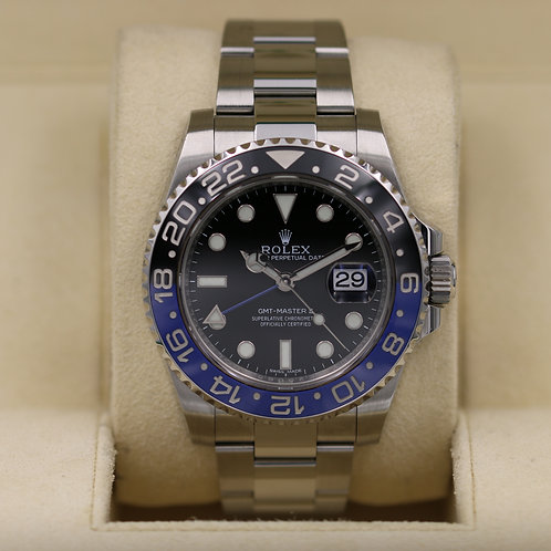 Rolex GMT Master II 116710BLNR Stainless - Box & Papers