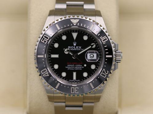 Rolex Sea-Dweller 126600 SD43 Red 50th Anniversary 43mm - 2017 Box & Papers