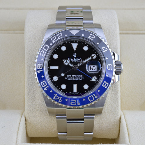 Rolex GMT Master II 116710BLNR - Box & Papers 2014