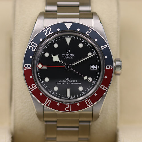 Tudor Black Bay GMT 79830RB Pepsi Bracelet - 2019 Box & Papers