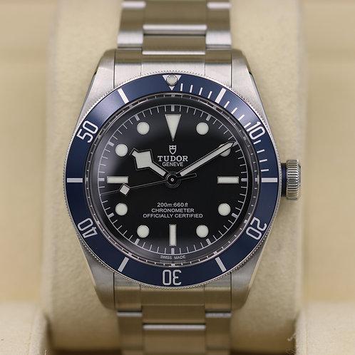 Tudor Heritage Black Bay Blue 79230B Bracelet In House Mvmt - 2017 Box & Papers