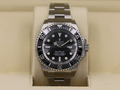Rolex DeepSea Sea-Dweller 116660 Black Dial - NOS Box & Papers