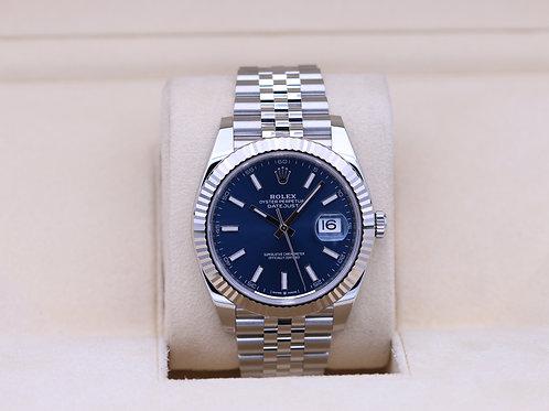 Rolex DateJust 41 126334 Blue Stick Dial Jubilee - 2020 Unworn!