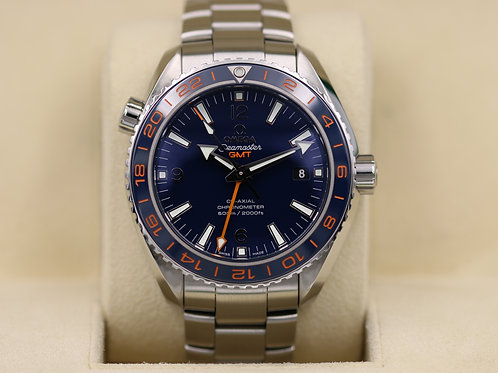 Omega Seamaster Planet Ocean GMT Good Planet 232.30.44.22.03.001 - Box & Papers