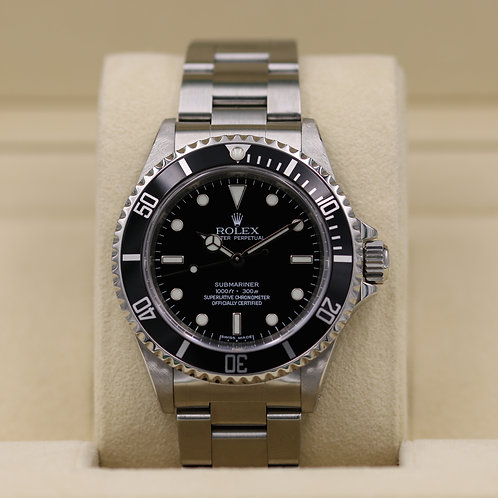 Rolex Submariner No Date 14060M - 4 Liner M Serial - Box & Papers