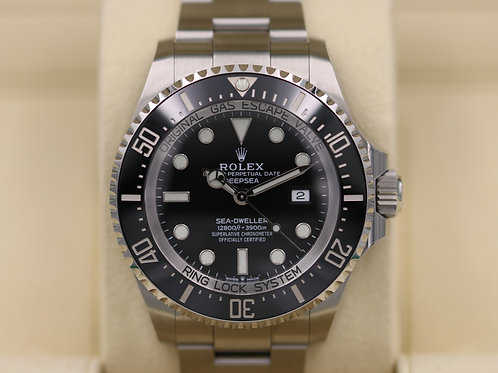 Rolex DeepSea Sea-Dweller 126660 Black Dial - New Release - 2018 Box & Papers