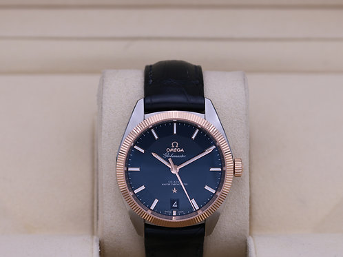 Omega Constellation Globemaster Blue Dial Two Tone 130.23.39.21.03.001