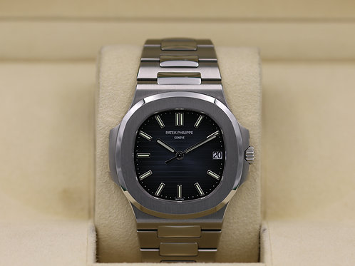 Patek Philippe Nautilus 5711/1A Blue Dial Stainless - Box & Papers