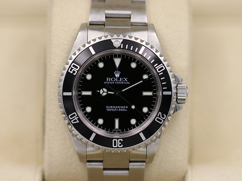 Rolex Submariner No Date 14060 Stainless Steel - A Serial 2 Liner - Swiss Only