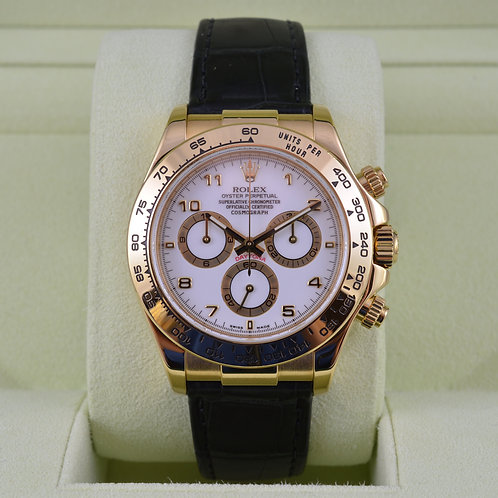 Rolex Daytona 116518 18K Yellow Gold - Box & Papers