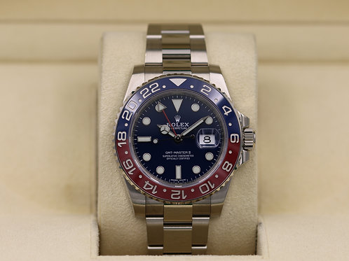 Rolex GMT Master II 116719BLRO Stainless - 2018 Box & Papers