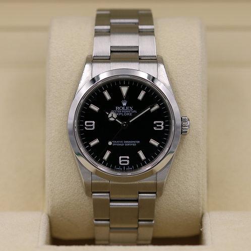 Rolex Explorer I 114270 36mm - D Serial
